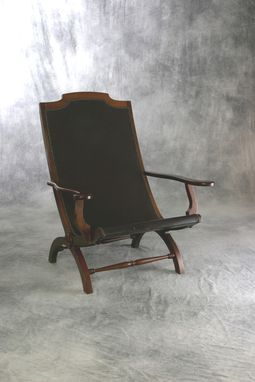 Custom Made Bautac Chair