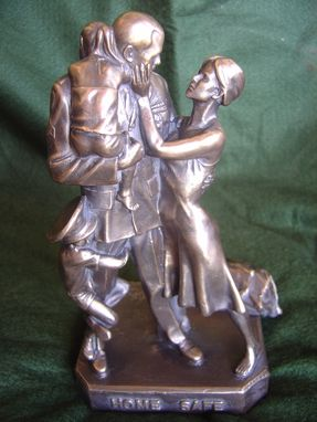 Custom Made Home Safe Statue