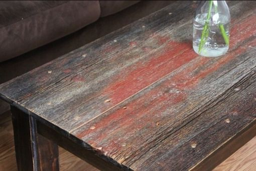 Custom Made Barnwood Coffee Table