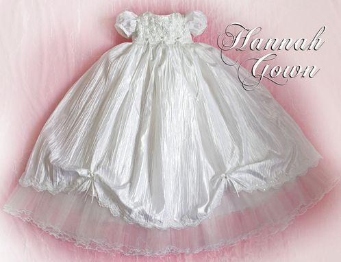 Custom Made Hannah Custom Made Christening/Baptism Gown