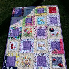 Custom Quilts | Personalized Quilts | CustomMade.com : custom made quilts with pictures - Adamdwight.com