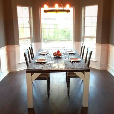 Custom Made Custom Dining Room Farm Table