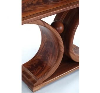 "Custom Made "" Cradle"" Side Serving Table."