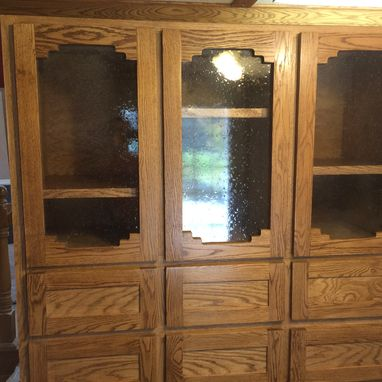 Custom Made Custom Oak Cabinet