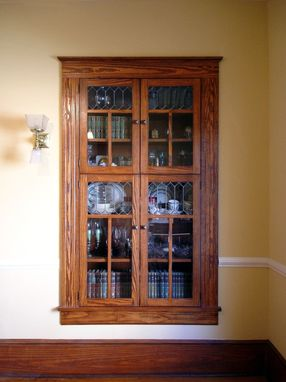 Custom Made Wall Hutch