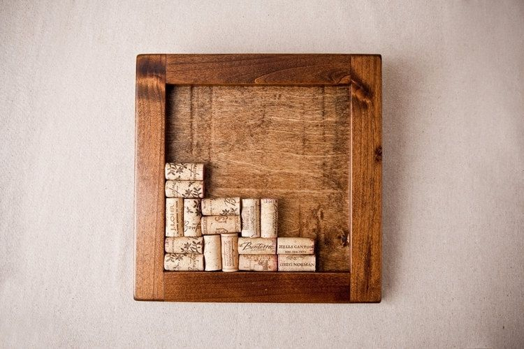 Handmade Wine Cork Trivet Kit By Alpine Wine Design Custommadecom