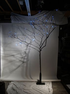 Custom Made Red Bud Branch Floor Lamp