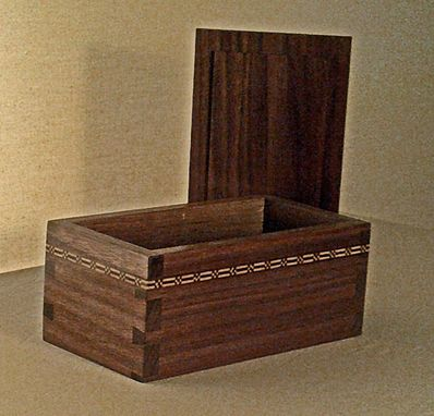 Custom Made Keepsake Box With Loose Lid