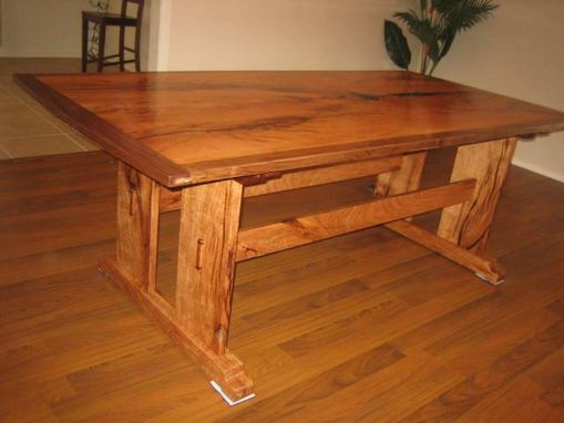 Custom Made Arts And Crafts Dining Table