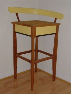 Custom Made Tall Bar Stool