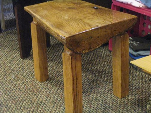 Custom Made End Table, Lamp Table, Bedside Table