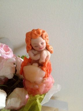 Custom Made Cake Topper  Fairy Garden Doll House Baby Shower Favour