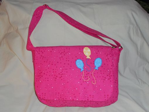 Custom Made Pinkie Pie Messenger Bag