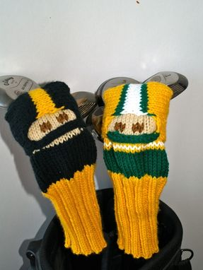 Custom Made Green Bay Packers Football Golf Club Cover