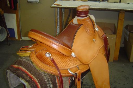 "Custom Made 16"" Western Saddle"