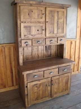 Handmade Reclaimed Chestnut Hutches Cupboards By Unique