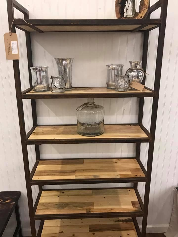 Custom Rustic Industrial Bookcase By Pumpkinvine Creek Custommade Com