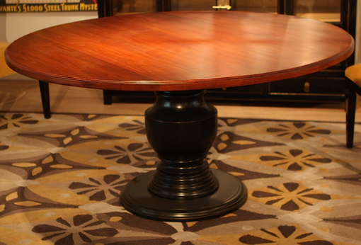 Custom Made Boylston Pedestal Dining Table (Floor Model)