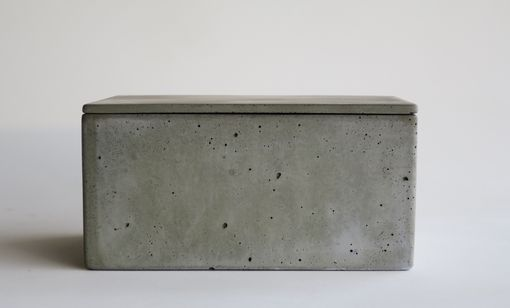 Custom Made Lidded Concrete Box