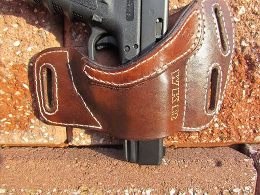 Custom Made Personalized Leather Gun Holster