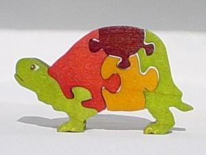 Custom Made Mini Wooden Jigsaw Puzzles