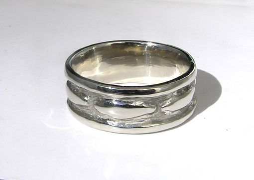 Custom Made Infinity Concept Wedding Band Set Custom Made 14k White Gold