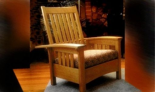 Custom Made Morris Bow Arm Chair