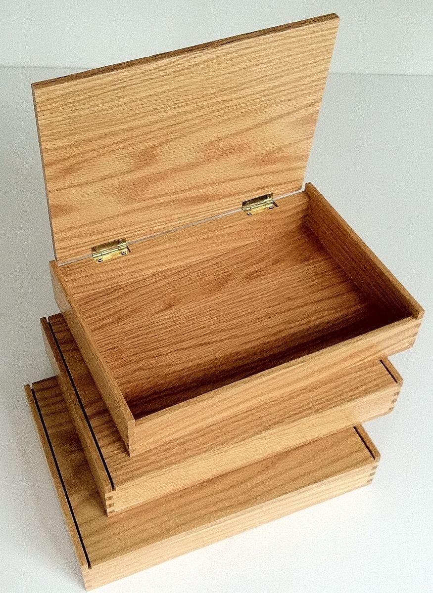 Buy Hand Crafted Ready To Customize Wooden Boxes, made to order from Wood Designs by Glenn G. Nief CustomMade.com
