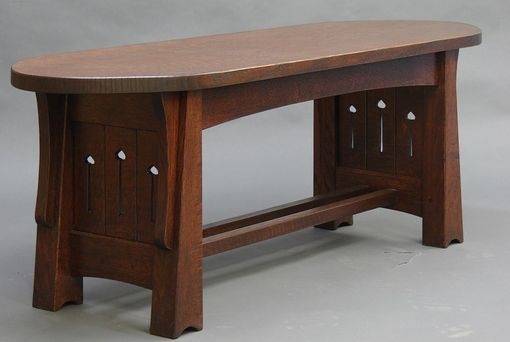 Custom Made Mackintosh Bench Or Coffee Table