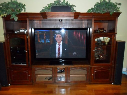 Custom Made Entertainment Console