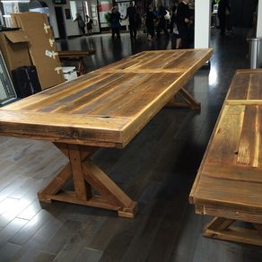 Reclaimed Wood Conference Communal Table Any Size
