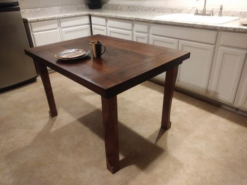 Custom Made Americana Hardwood Harvest Farm Table