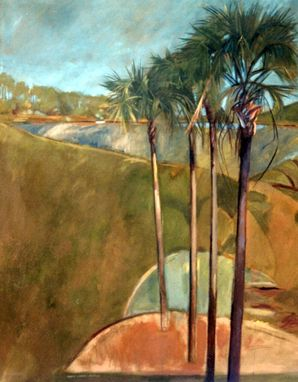Custom Made Painting:  Palms By Maggie Schmidt