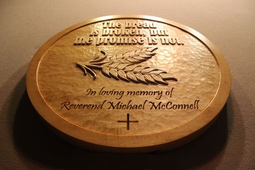 Custom Made Custom Carved Wood Signs | Hand Carved Signs | Memorial Signs | Church Signs
