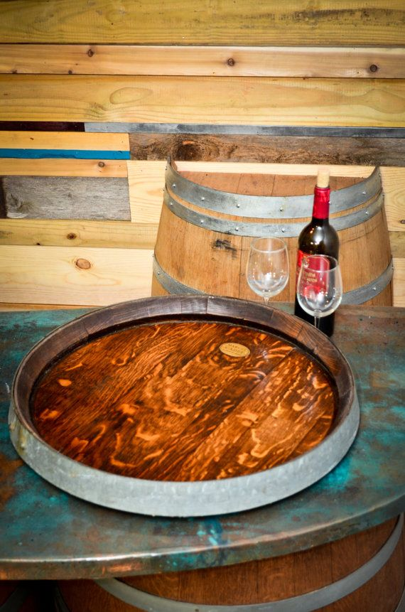 Buy A Handmade Rare Xl Wine Barrel Top Lazy Susan Made To Order