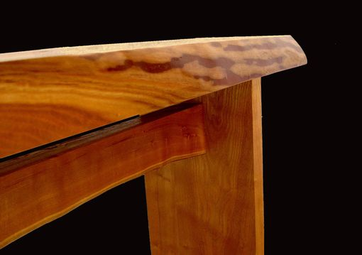 Custom Made Asian Sassafras Console