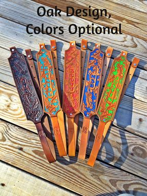 Custom Made Custom Leather Gun Slings Handmade In Usa Premium Designs