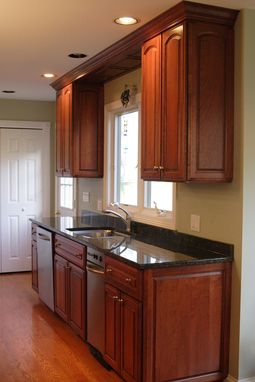 Custom Made Custom Cherry Wood Kitchen