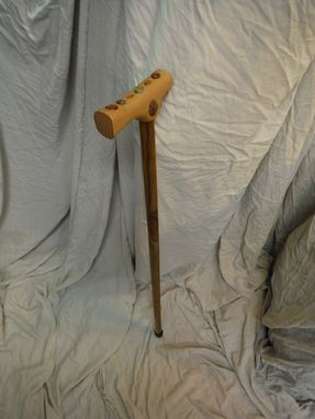 Custom Made Walking Cane With Stones