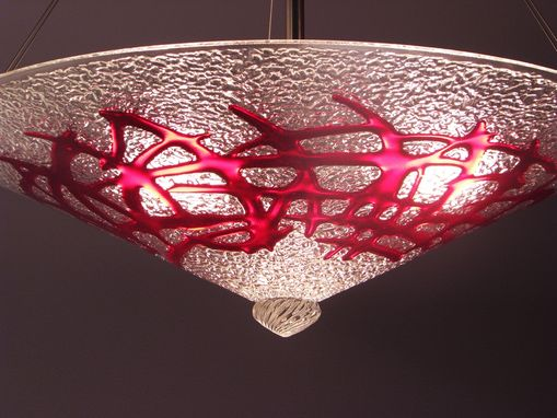 Custom Made Jade Or Ruby Bramble Cone Light
