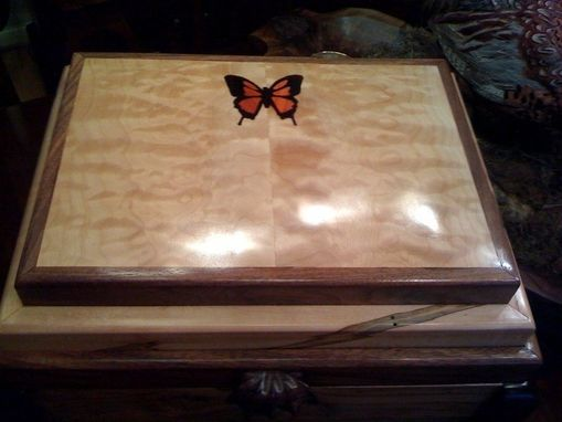"Custom Made ""The Butterfly"" Jewelry Box"