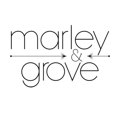 Custom Made Marley & Grove Logo Design