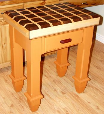 Custom Made Butcher Block Island