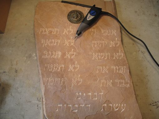 Custom Made Ten Commandments