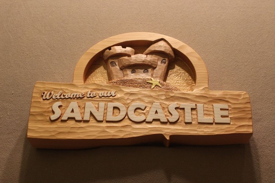 Custom Made Wood Signs Carved Wooden Beach Home Vacation