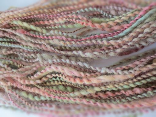 Custom Made Handspun Yarn / Hand Dyed Yarn / Variegated Yarn / Wool Yarn / Worsted Weight Yarn