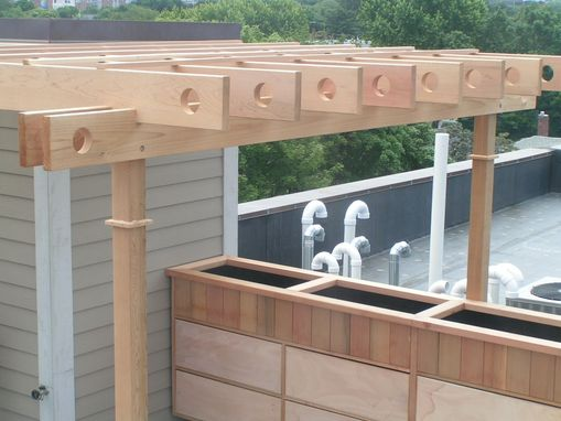 Custom Made Rooftop Deck