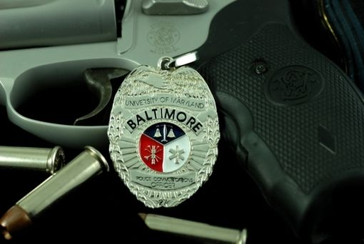 Custom Made April's Police Communications Pendant