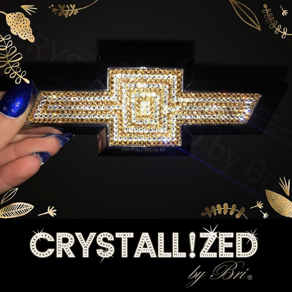 b70f53d616 Custom Made Crystallized Car Emblem Bling Made With Swarovski Crystals -  Any Car