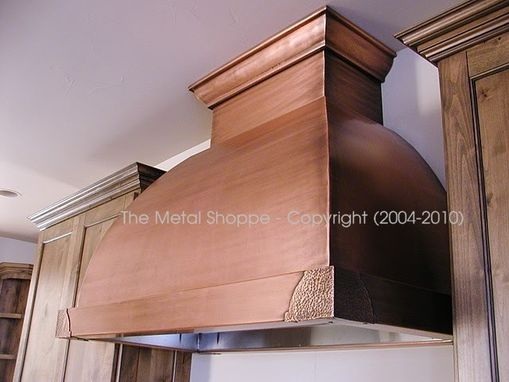 Custom Made Custom Copper Kitchen Range Hood